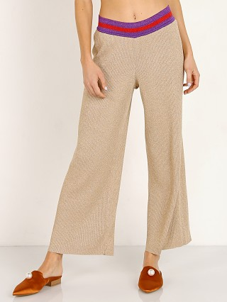 Splendid X Margherita Missoni Fiesta Sweater Pant Oro