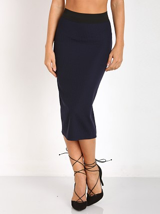 Complete the look: Noe Undergarments Rae Open Zip Back Skirt Navy
