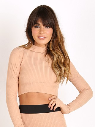 Noe Undergarments Rae Long Sleeve Top Taupe