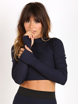Complete the look: Noe Undergarments Rae Long Sleeve Top Navy