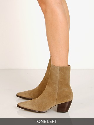 Model in taupe Matisse Caty Boot  Suede
