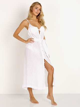 Eberjey Paz Liza Cover Up Dress White