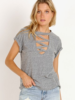 LNA Clothing Orion Tri Blend Tee Heather Grey