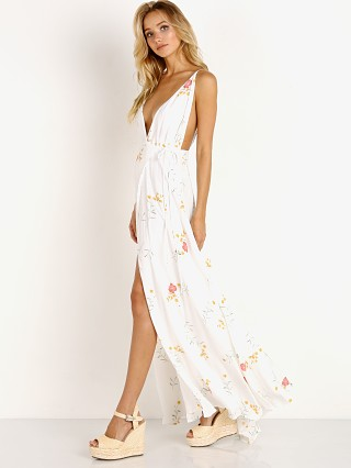 Capulet Maxine Maxi Dress Cream Floral