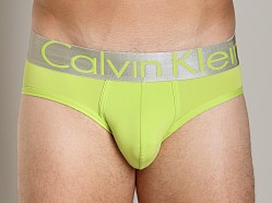 Calvin Klein Steel Micro Hip Brief Fresh Aloe