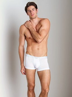 Emporio Armani Soft Cotton Trunk White