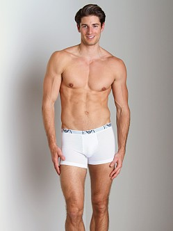 Emporio Armani Genuine Cotton 3-Pack Boxer White
