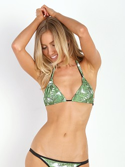 WILDFOX Halter Top Tropical Palm