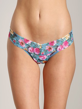 Hanky Panky Low Rise Thong Rose Multi