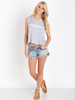 WILDFOX She Sells Seashells Tank Clean White