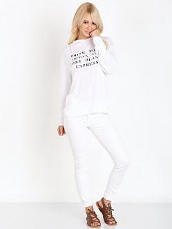 WILDFOX Hamptons House Gypsy Hoodie Clean White