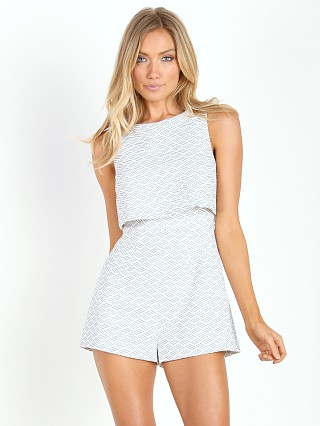 Keepsake The Label Motion Picture Playsuit Ivory