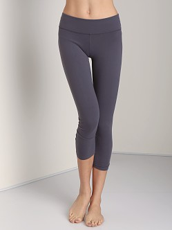 Beyond Yoga Back Gather Legging Steel
