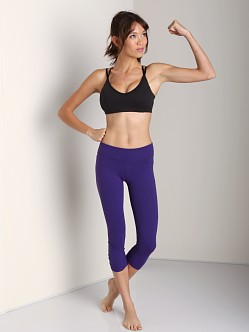 Beyond Yoga Back Gather Legging Venitian Purple