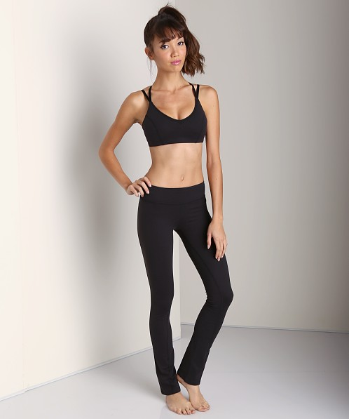 Beyond Yoga Slim Leg Pant Black