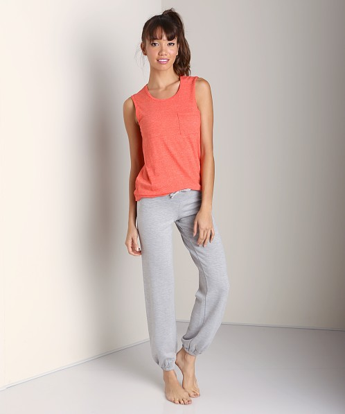 Beyond Yoga Relaxed Sweatpant Heather Grey