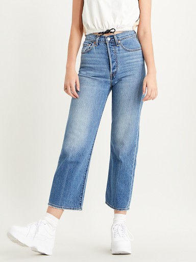 Levi's Ribcage Straight Ankle Jeans At the Ready