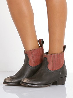 Matisse Mustang Boots Black/Red