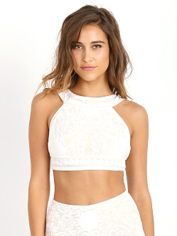 SKIVVIES by For Love & Lemons Pear Blooms Bralette