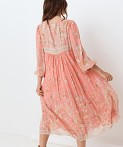 Spell & The Gypsy Hendrix Boho Dress Dusty Pink, view 3