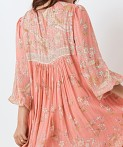 Spell & The Gypsy Hendrix Boho Dress Dusty Pink, view 4