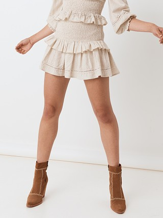 Complete the look: Spell & The Gypsy Lola Ruched Mini Skirt Biscuit