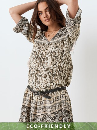 Model in ash Spell & The Gypsy Journey Tunic Dress