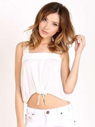 Auguste Luxe Cami White