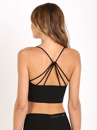 Onzie Seamless Strappy Sports Bra Black