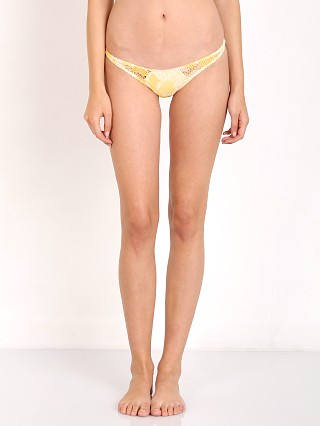 House of Au+Ora Hot Stuff Bikini Bottom Yellow