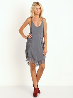 Free People Eyelashes Slip Slate Grey
