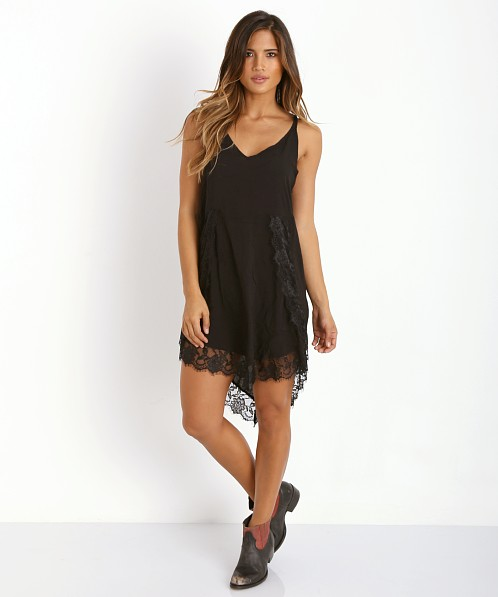 Free People Eyelash Slip Black