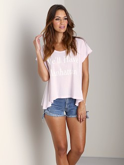 Wildfox Couture We'll Have Manhattan Lazy T Daisy