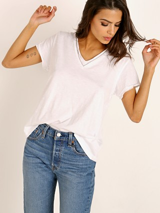 LNA Clothing Ayla Tee White