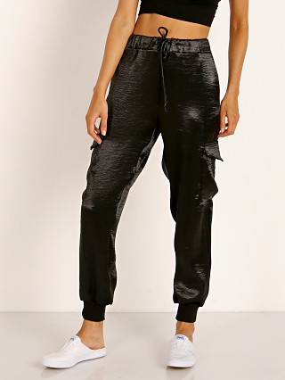 LNA Clothing Shine Cargo Pant Black