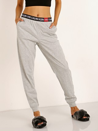 Calvin Klein 1981 Bold Lounge Jogger Pant Heather Grey