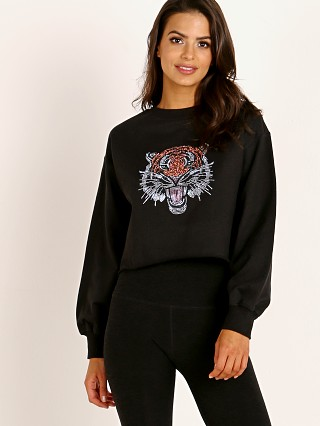 Beach Riot Tiger Sweater Black
