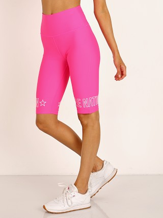 PE NATION Swish Shorts Bright Pink