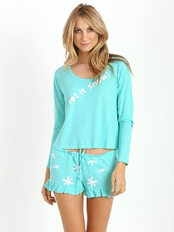 WILDFOX Let it Snow Cabin Fever Set Winter Green