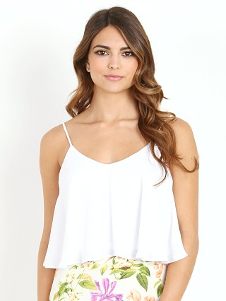 Show Me Your Mumu Charlie Crop White Crisp