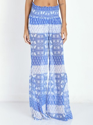 Complete the look: Show Me Your Mumu Roberts Party Pants Teacups Tulips