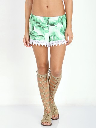 Show Me Your Mumu Bri Lacey Shorts Polo Lounge Palms