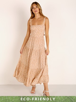Auguste the Label Cameron April Maxi Dress Sand