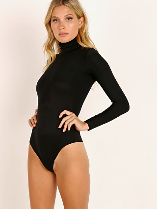 Commando Butter Turtleneck Bodysuit Black
