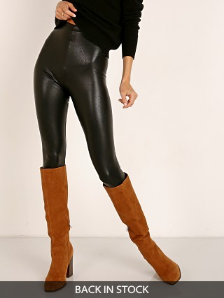 Commando Perfect Control Faux Leather Legging Black
