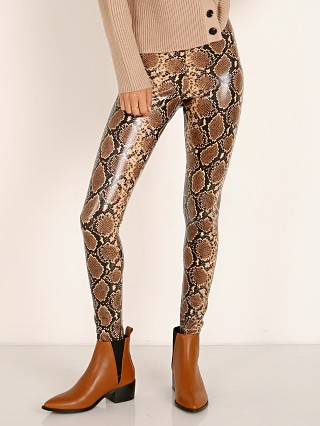 Commando Perfect Control Faux Leather Legging Snake