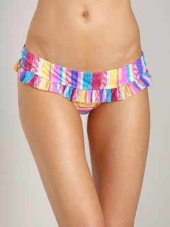 Tigerlily Patta Kilim Frill Band Tiger Bikini Bottom Raja