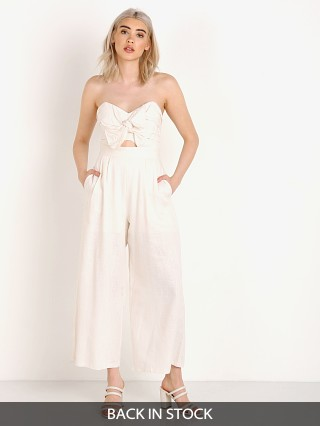 ASTR the Label Mara Jumpsuit Natural
