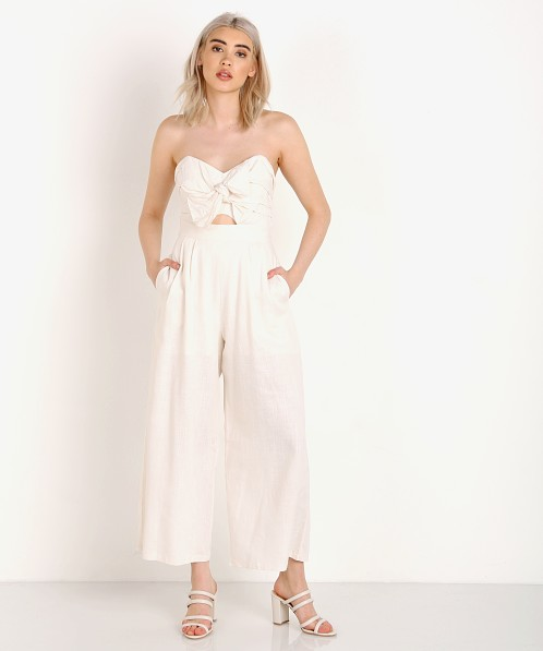 f7d8a0180acd ASTR the Label Mara Jumpsuit Natural ACP6366 - Free Shipping at Largo Drive