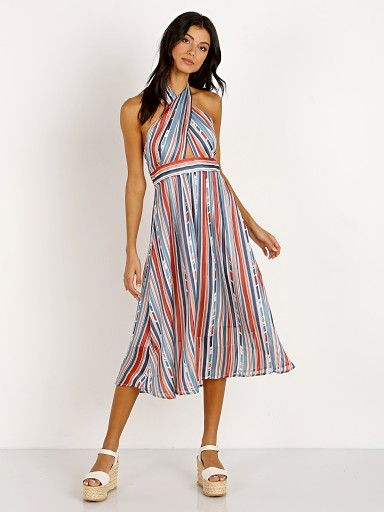 ASTR the Label Gemma Dress Geo Stripe
